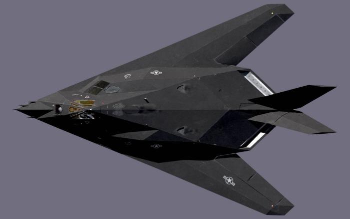 Kanske det mest kända stealthflygplanet